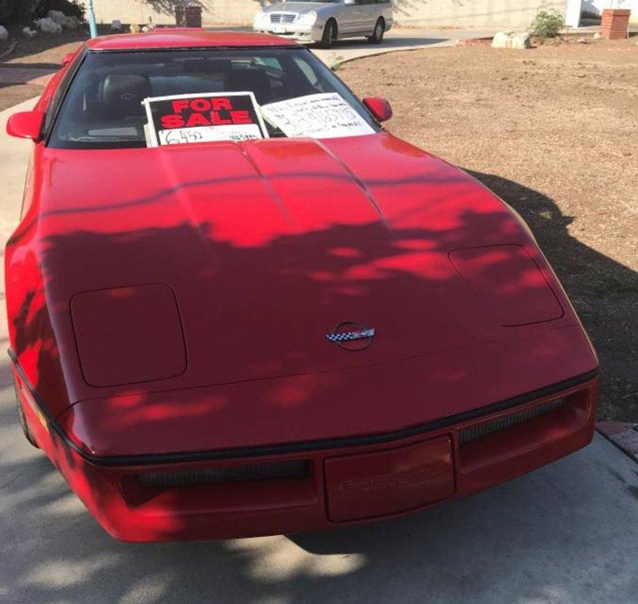 1988 Corvette Front