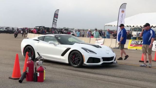 2019 Chevrolet Corvette ZR1 Texas Mile