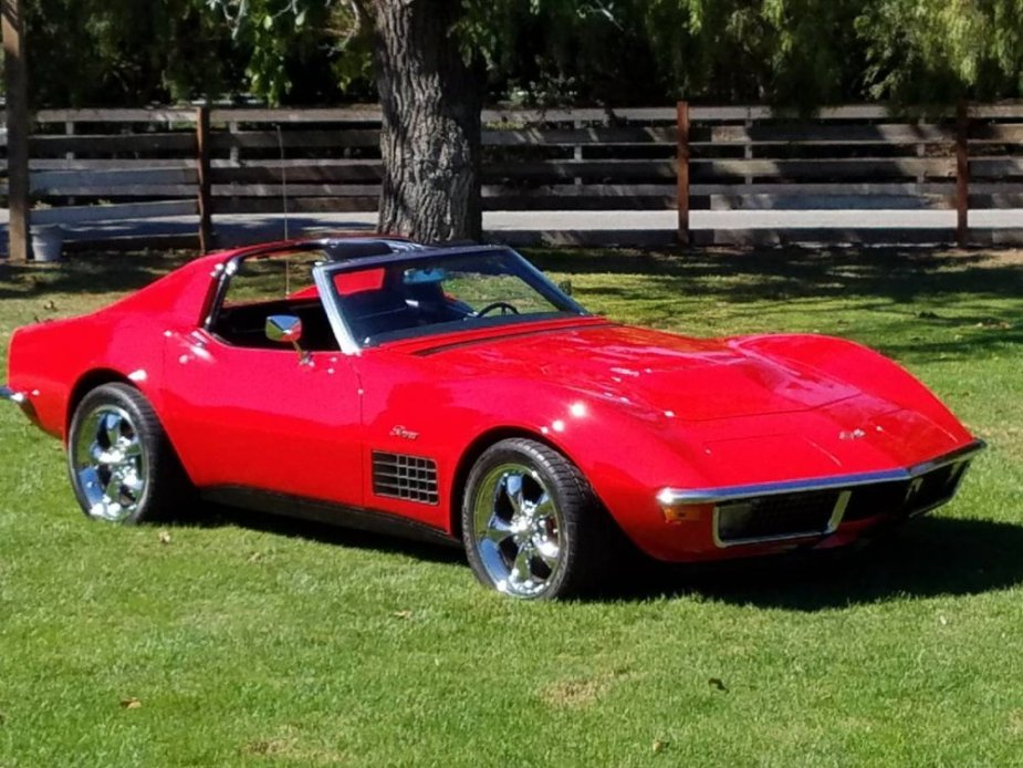 Gorgeous 1971 Corvette 454 4-Speed on Craigslist - CorvetteForum