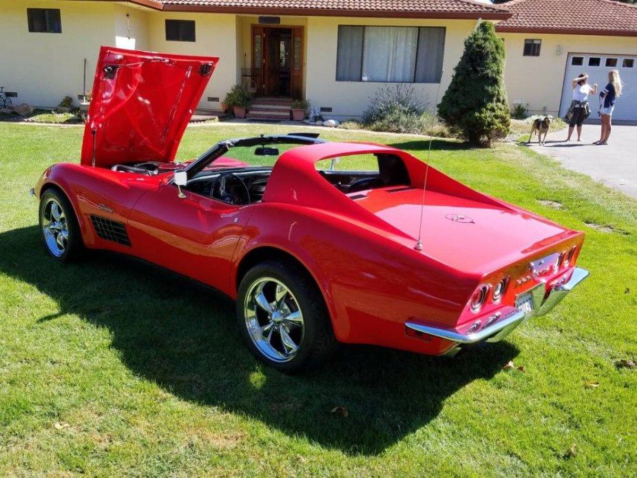1971 Corvette Hood Up
