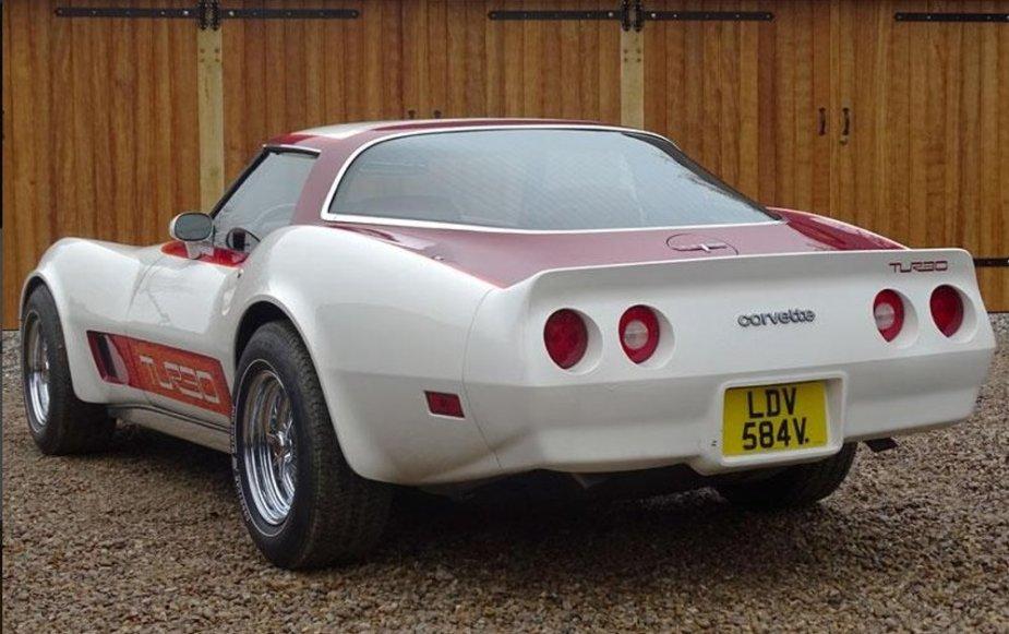 1980 Duntov Corvette Rear