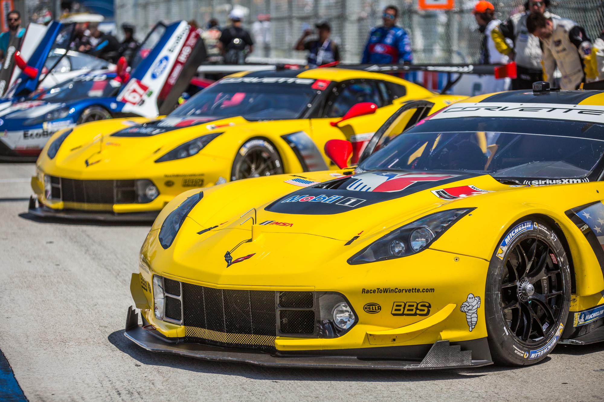 Corvetteforum.com Corvette Racing C7.R Long Beach Grand Prix 2018