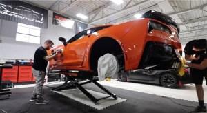 Corvetteforum.com Brand New Car Corvette Paint Correction
