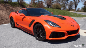 YouTuber test ZR1 review