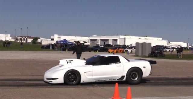 Vengeance Racing Corvette Z06 on Track