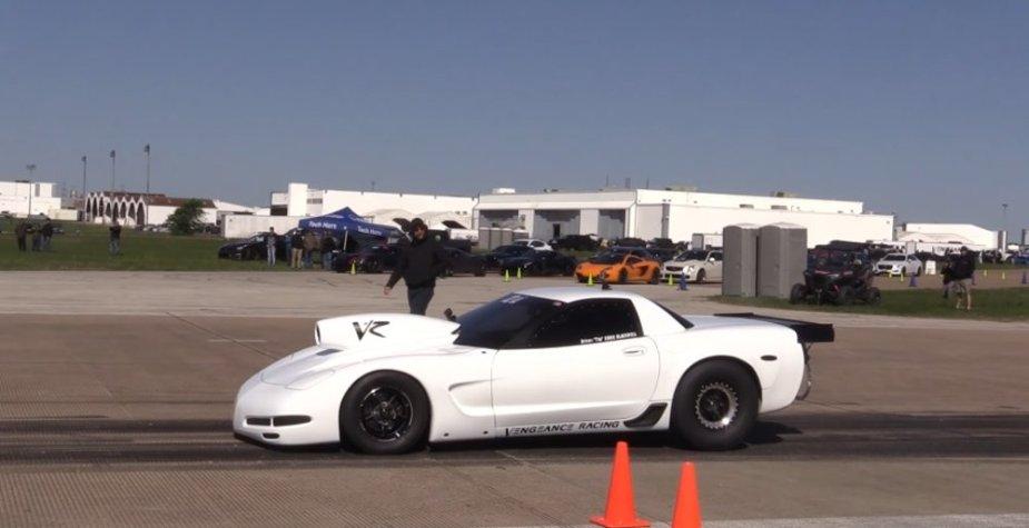 VR Corvette Z06 on Track