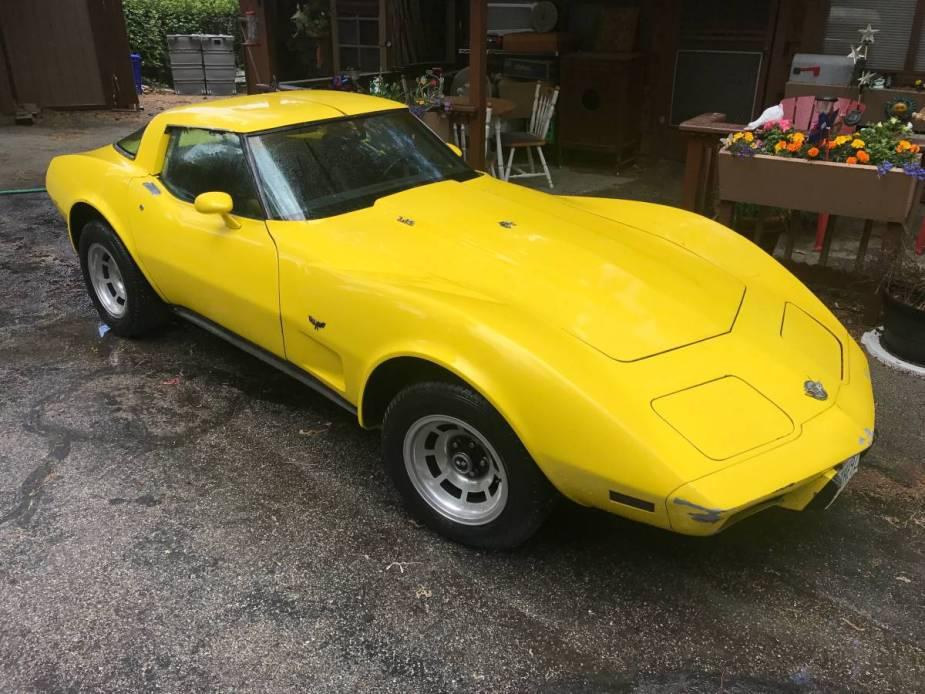 25th anniversary Corvette