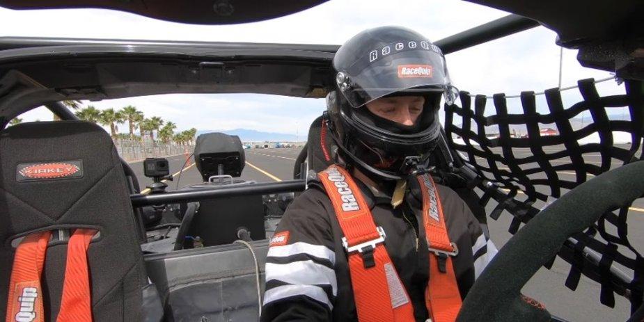Driving Leroy Corvette