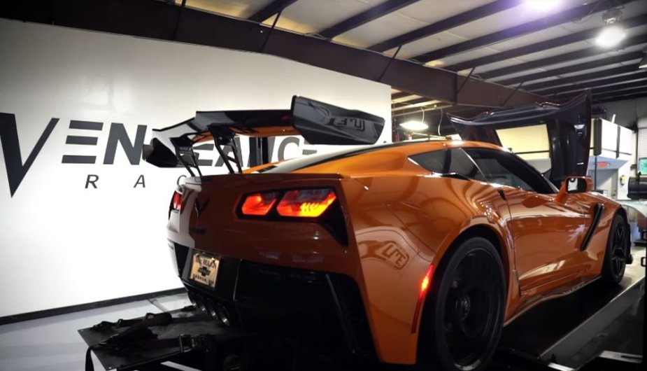 Corvette ZR1 on the Dyno