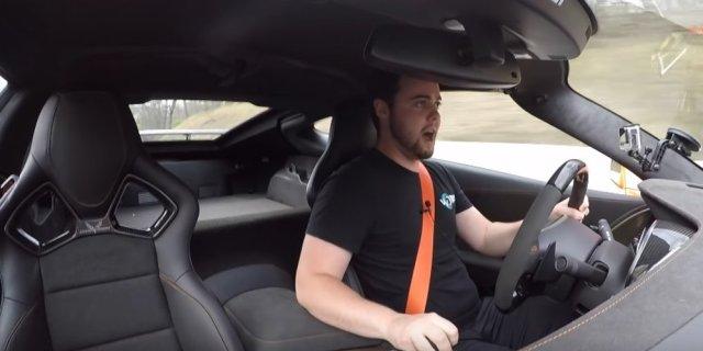 Vehicle Virgins Host in Corvette ZR1
