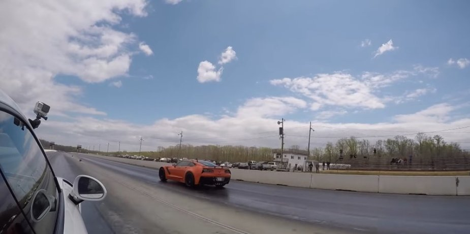 Corvette ZR1 Beats 911