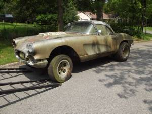 C2 Corvette Gasser barn find