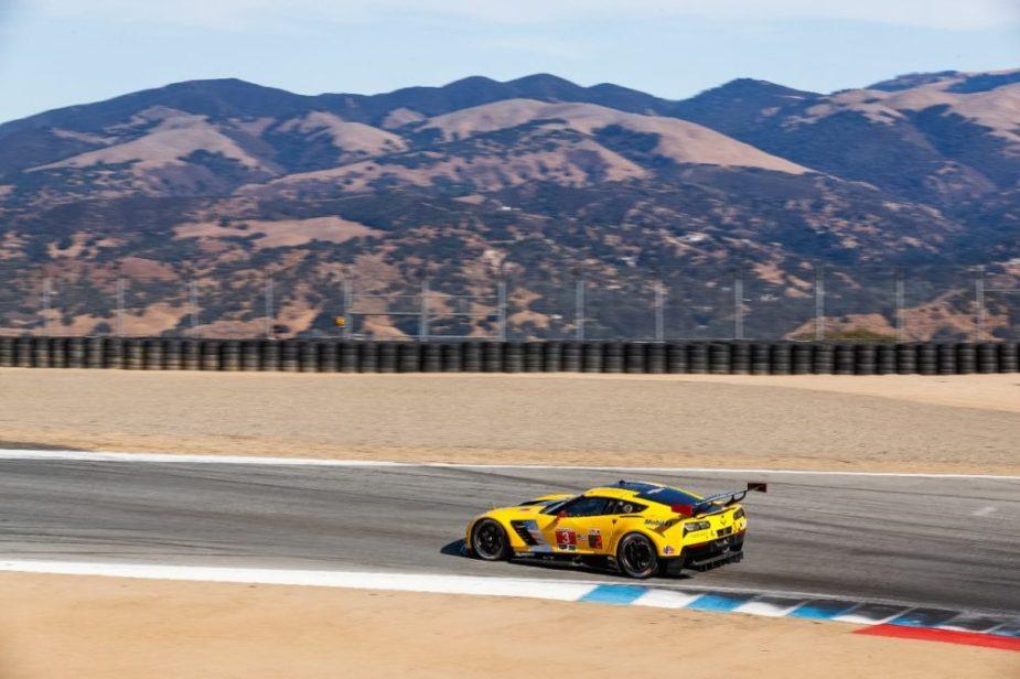 Corvette Racing at 2017 Monterey Grand Prix