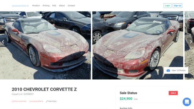 2010 Corvette ZR-1 Post-Harvey