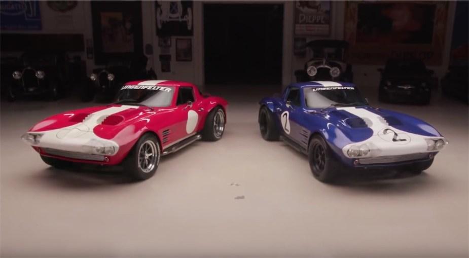 Corvetteforum.com Jay Lenos Garage Superformance Corvette Grand Sport