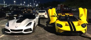 Corvette ZR1 and Ford GT