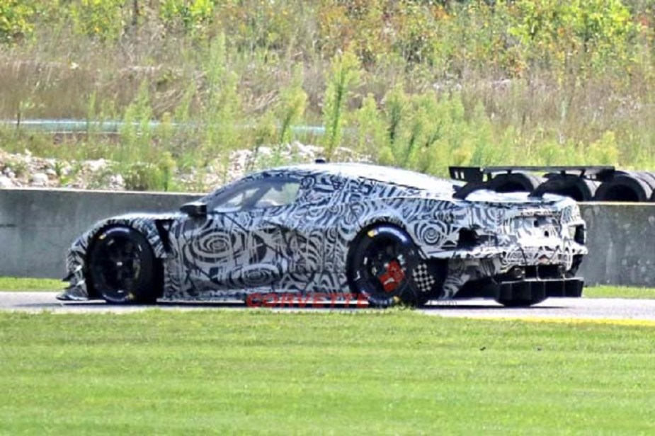 corvetteforum.com Corvette C8.R Mule Spy Photos