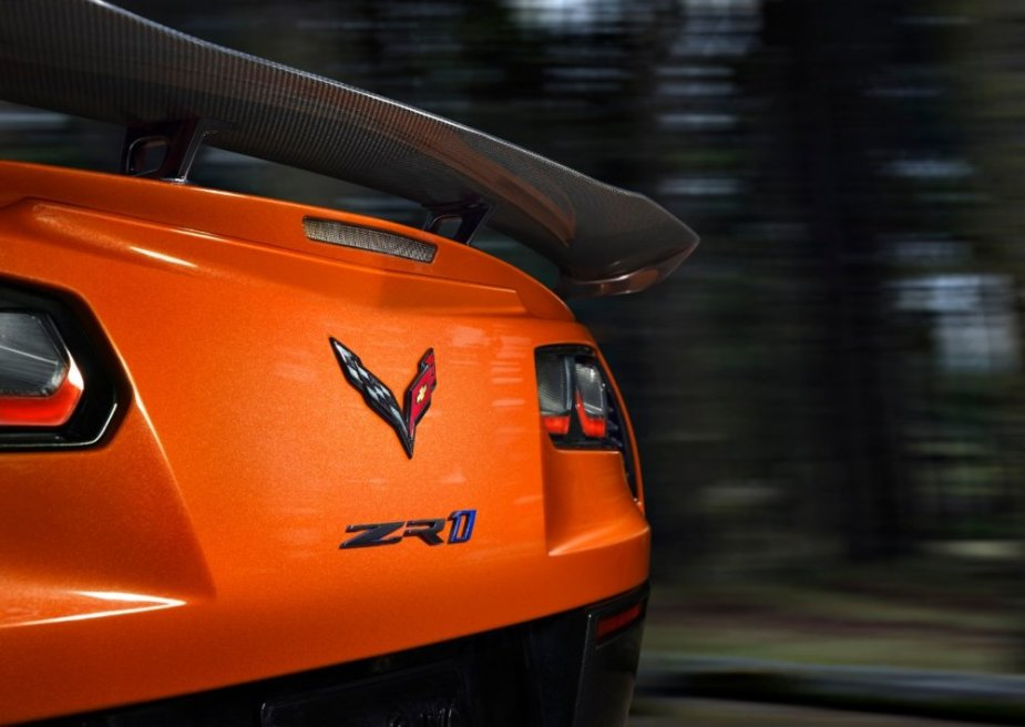 C7 Corvette ZR1 Rear