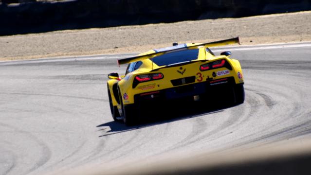 Corvette Racing IMSA Laguna Seca