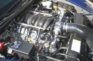 Stock Corvette LS2