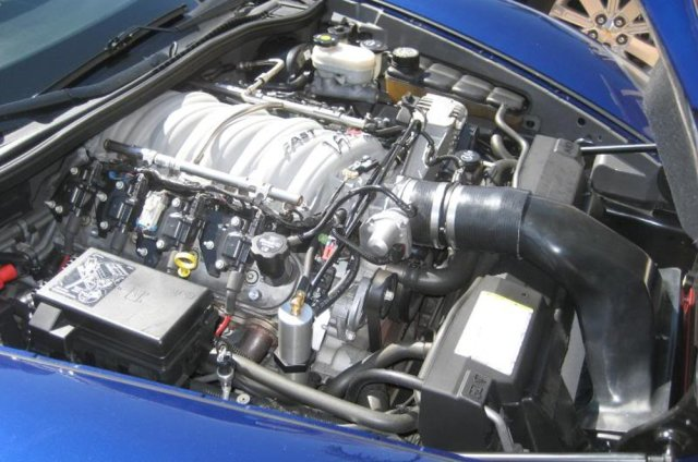 Corvette LS2 with FAST 102