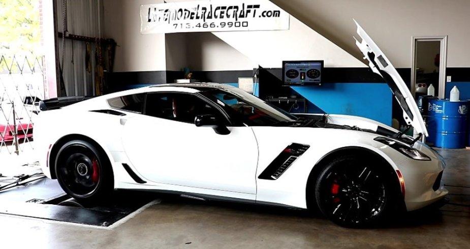 LMR800 Corvette on the Dyno