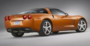 C6 Corvette Rear
