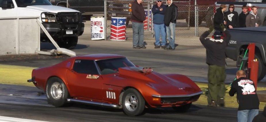 C3 Diesel Corvette Before Burnout