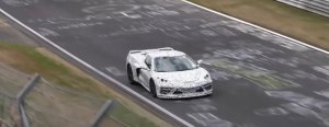 C8 Corvette High Angle at the Ring
