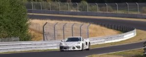 C8 Corvette at the Nurburgring Front