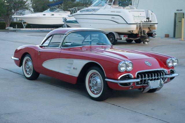 1960 Corvette High Front