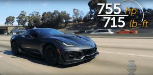 2019 Chevrolet Corvette ZR1 stats
