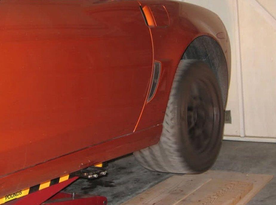 Corvette Z06 Liifted