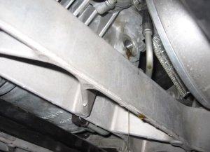 Corvette Z06 Differential Fill Plug Open