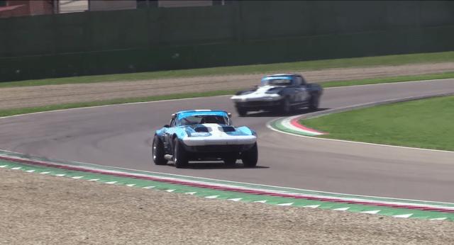 Corvette Grand Sport at Imola.