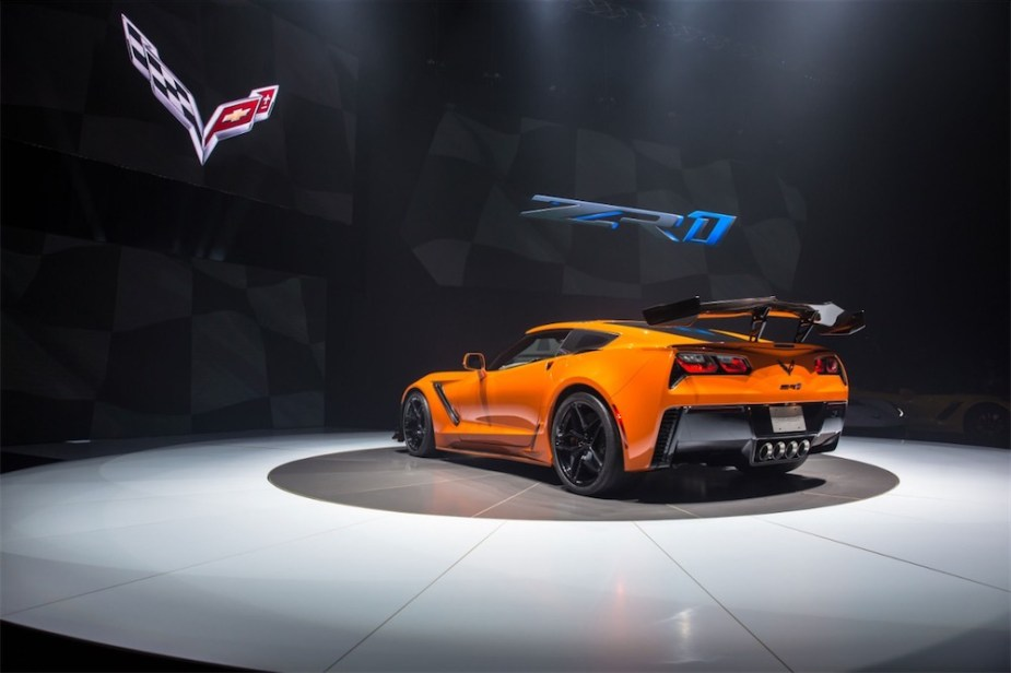 ZR1 - Road and track performance car of the year 2019.
