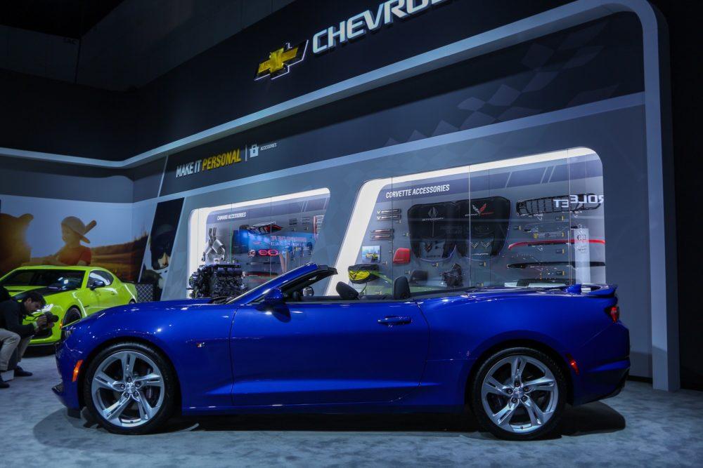 Chevrolet Camaro + Chevrolet Accessories