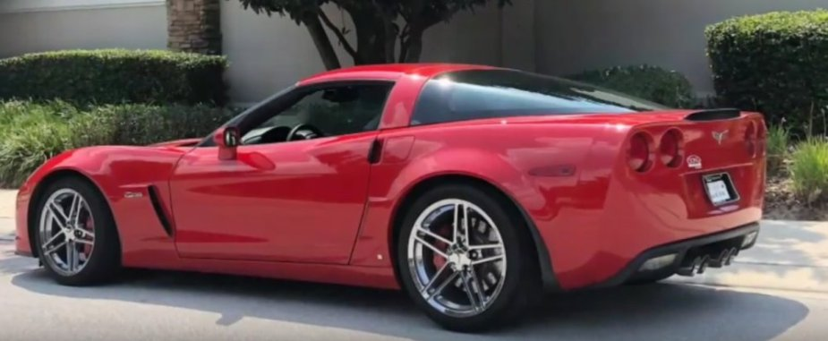 Red Stock C6 Corvette Z06