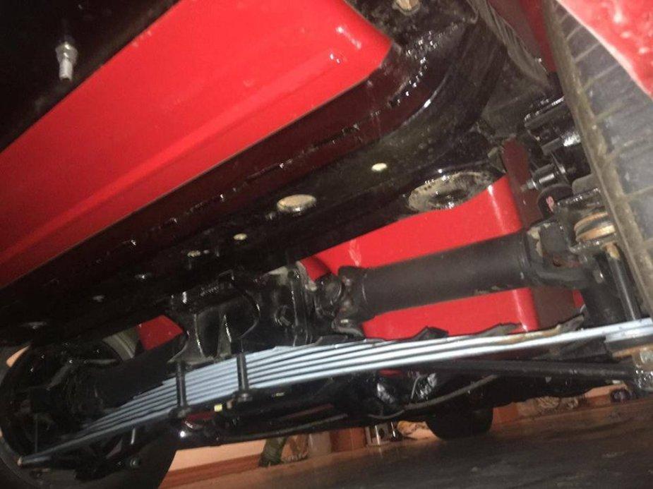1963 Corvette Stingray Convertible Undercarriage