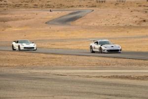 C7 Corvette Z06 Battles Viper ACR on Track Streets of Willow Springs