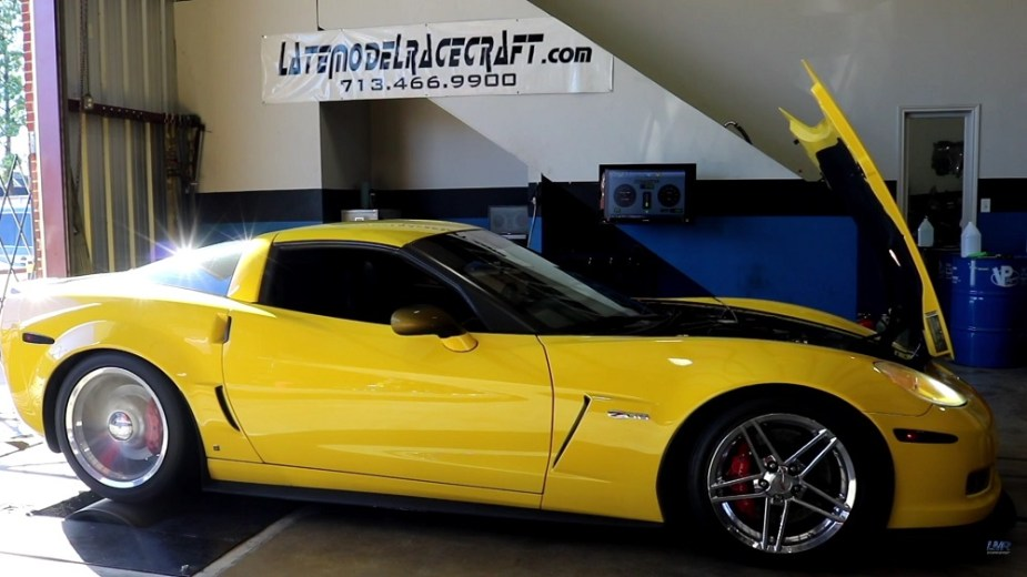 C6 Z06 Shows Just How Easy it Is to Make Big, All-motor