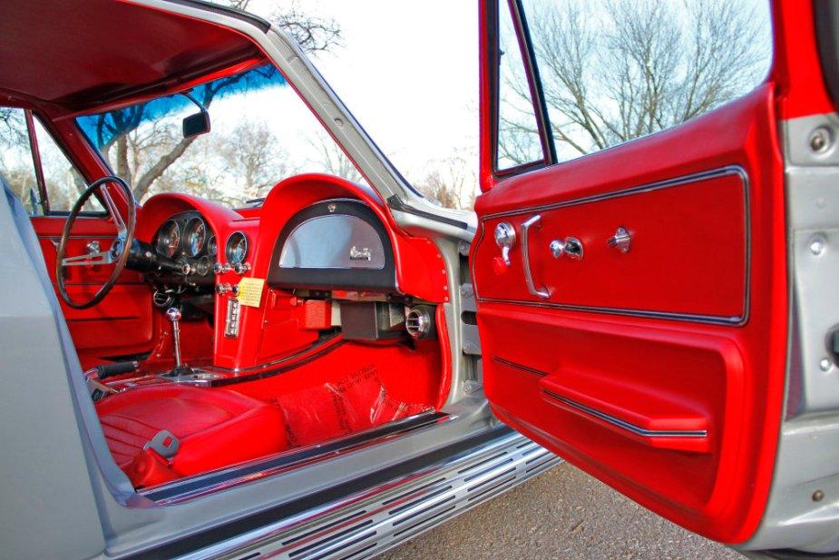 1967 Corvette Red Interior
