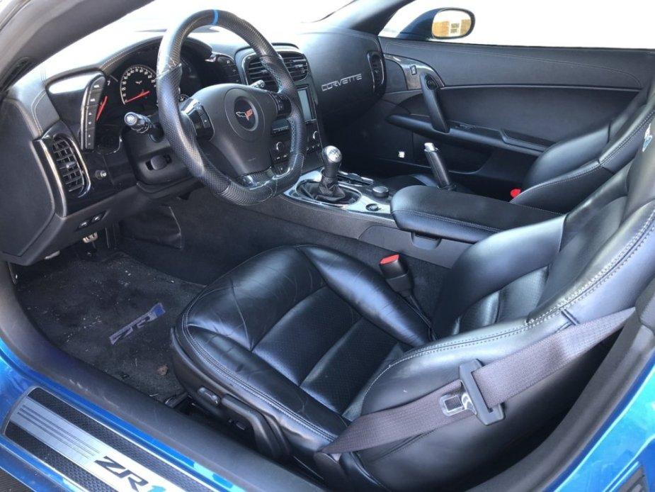 2010 Corvette ZR1 Interior