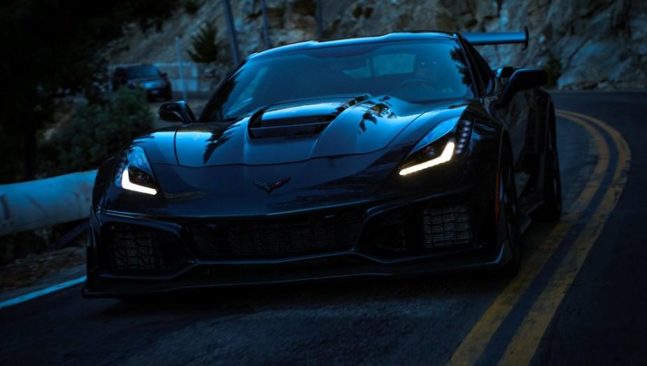 2019 Corvette ZR1 Night Drive Jake Stumph Corvetteforum.com