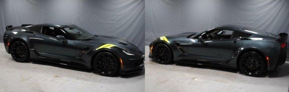 2019 Corvette Grand Sport Sides