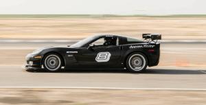 C6 Corvette Z06 On Track