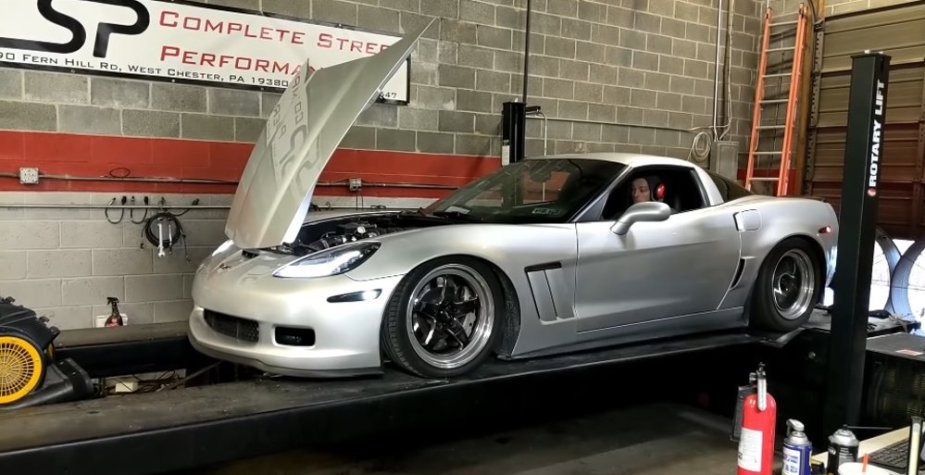 Turbo C6 Corvette Z06 Massive Engine Explosion on the Dyno
