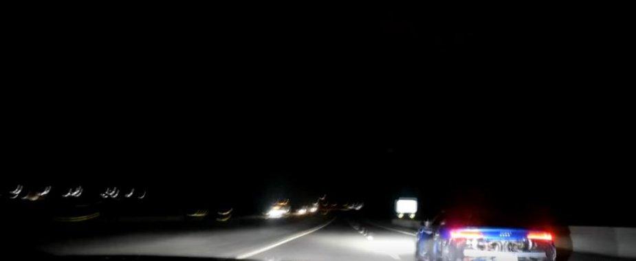 Corvette Running with Audi