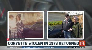 Recovered 1969 Corvette Stingray