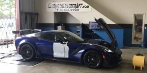 Late Model Racecraft 2019 Corvette ZR1 Dyno Numbers